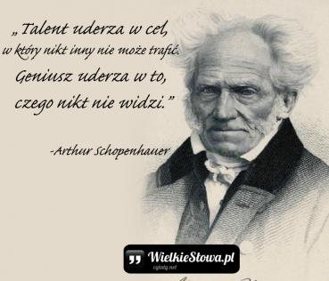 Talent uderza w cel, w który…