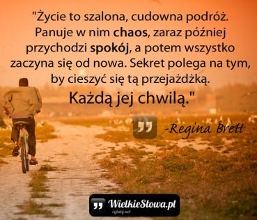 Życie to szalona, cudowna podróż…