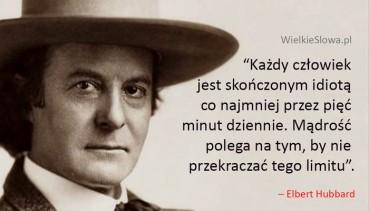 Każdy człowiek jest skończonym idiotą…