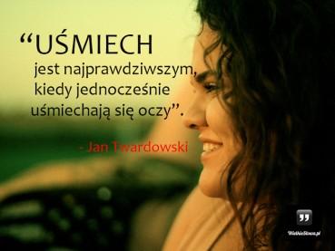 Uśmiech jest najprawdziwszym…