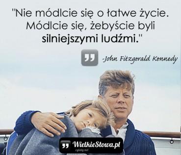 Nie módlcie się o łatwe życie…