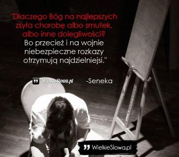 Dlaczego Bóg na najlepszych zsyła chorobę albo smutek…