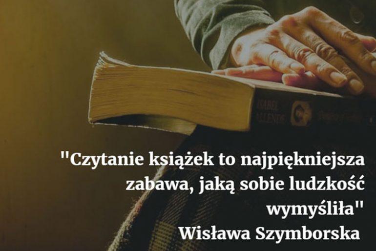 Czytanie książek to najpiękniejsza zabawa