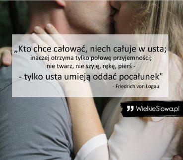 Kto chce całować, niech całuje w usta…