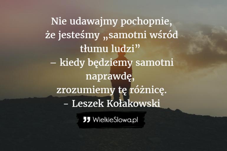 Nie udawajmy pochopnie…