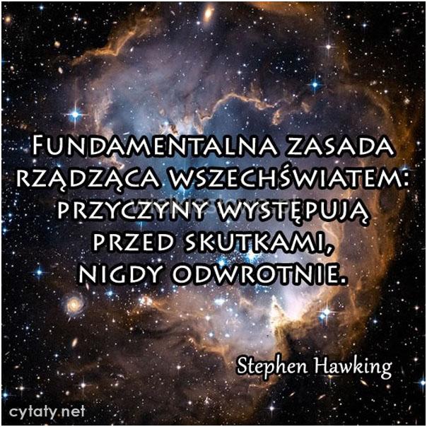 Fundamentalna zasada rządząca wszechświatem...