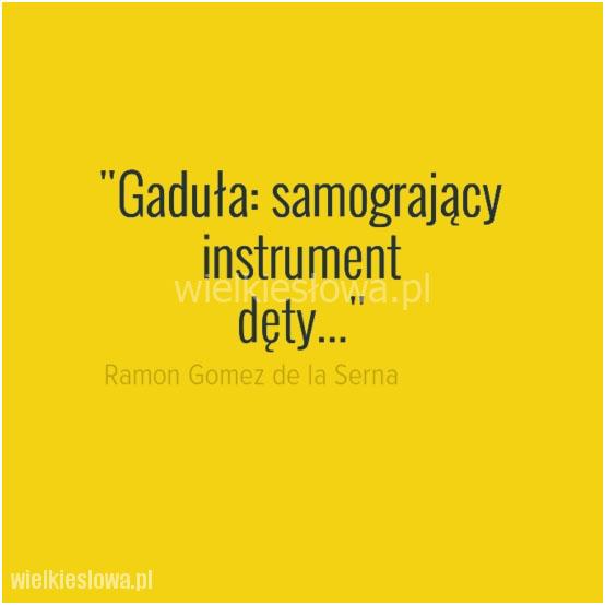 Gaduła: samogrający instrument...
