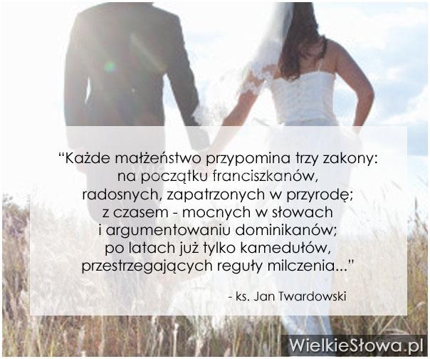Każde Małżeństwo Przypomina Trzy Zakony Wielkiesłowapl