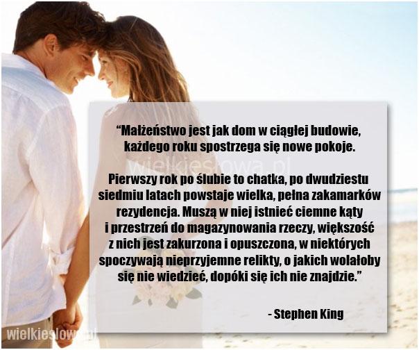 Małżeństwo jest jak dom w ciągłej budowie…