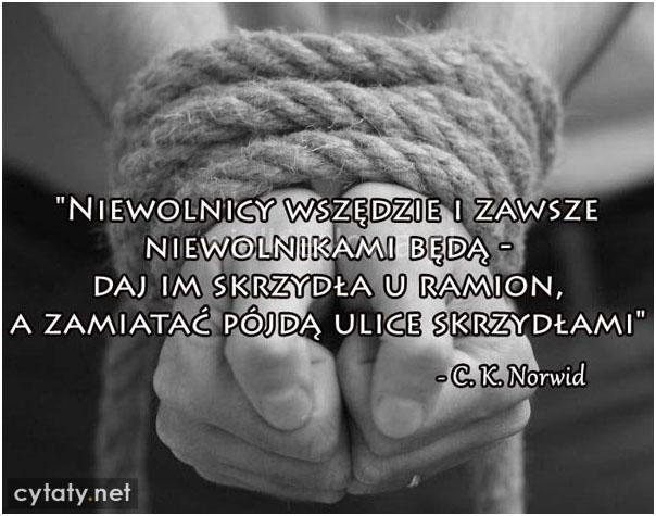 Niewolnicy wszędzie i zawsze niewolnikami będą...