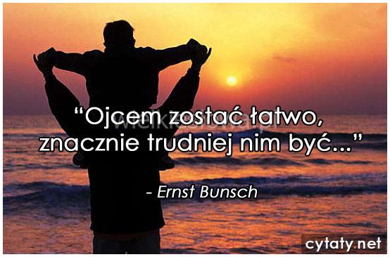 Ojcem zostać łatwo...