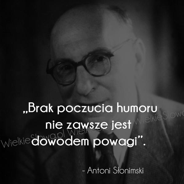 Cytaty o humorze: Brak poczucia humoru...