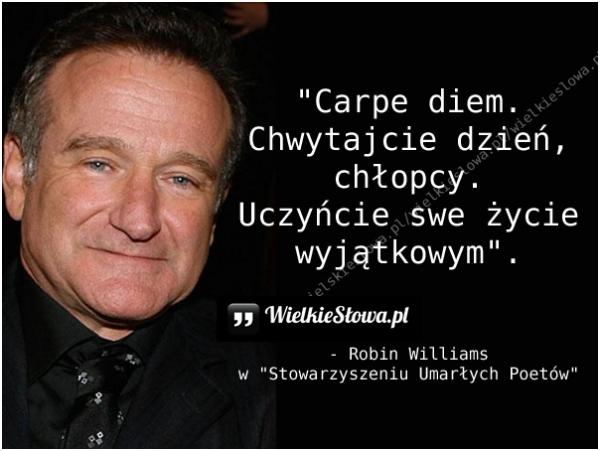 Williams Robin Cytaty Sentecje Aforyzmy
