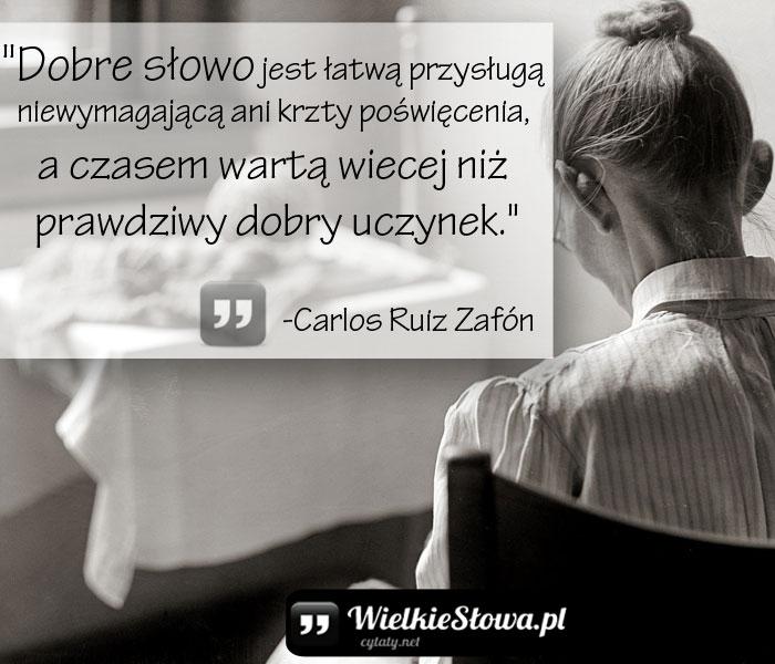 Zafón Carlos Ruiz Cytaty Sentecje Aforyzmy