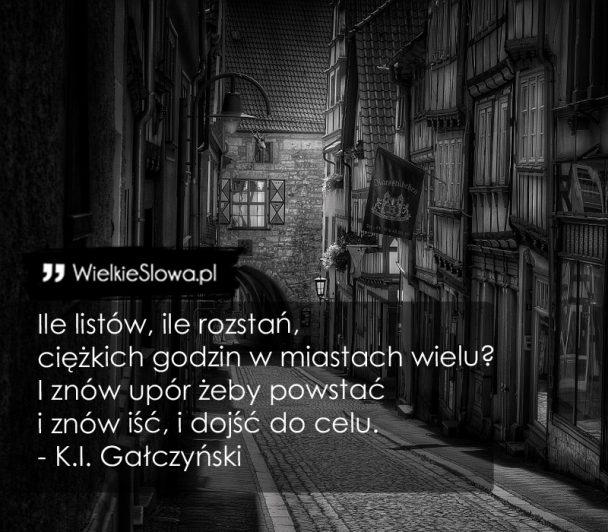 Gałczyński Konstanty Ildefons Cytaty Sentecje Aforyzmy