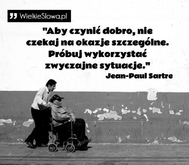 sartre cytaty Sartre Jean Paul   cytaty sentecje aforyzmy sartre cytaty