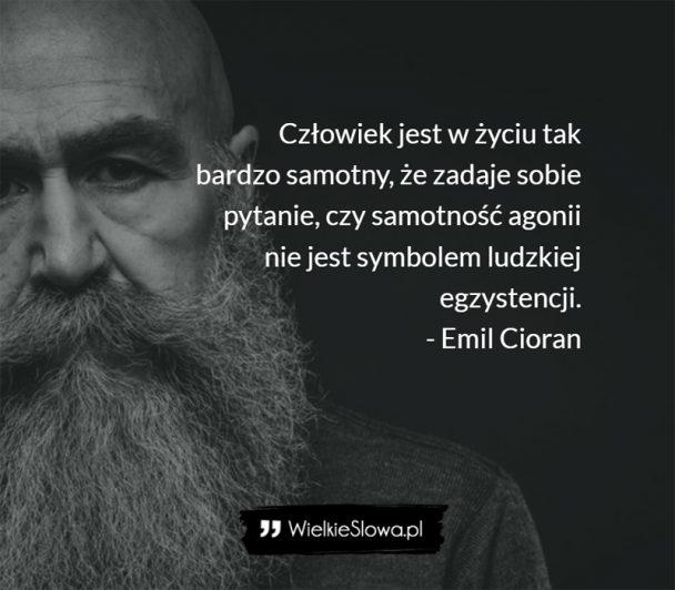 Cioran Emil Cytaty Sentecje Aforyzmy