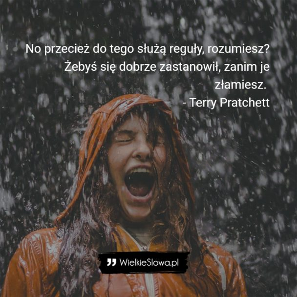 Pratchett Terry Cytaty Sentecje Aforyzmy