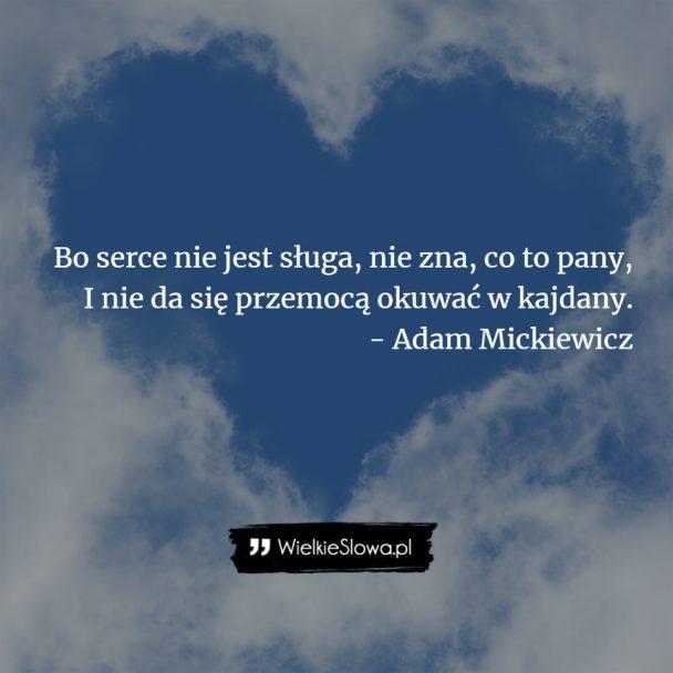 Mickiewicz Adam Cytaty Sentecje Aforyzmy