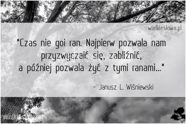 Wiśniewski Janusz Leon Cytaty Sentecje Aforyzmy