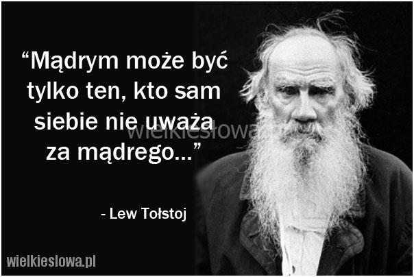tołstoj cytaty Tołstoj Lew   cytaty sentecje aforyzmy tołstoj cytaty