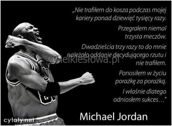 2018 buty buty do biegania wielka wyprzedaż Jordan Michael - cytaty sentecje aforyzmy