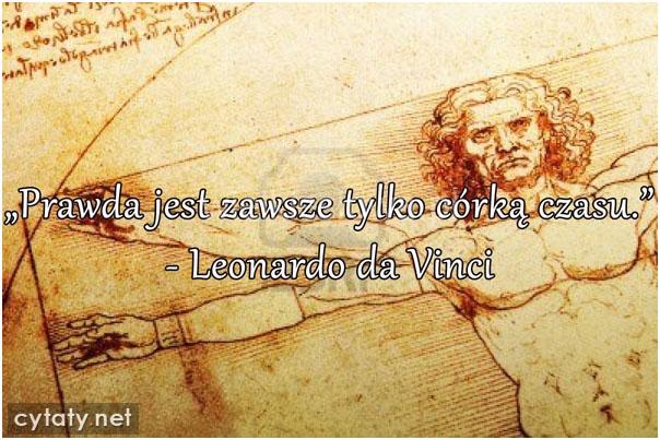 Vinci Leonardo Da Cytaty Sentecje Aforyzmy
